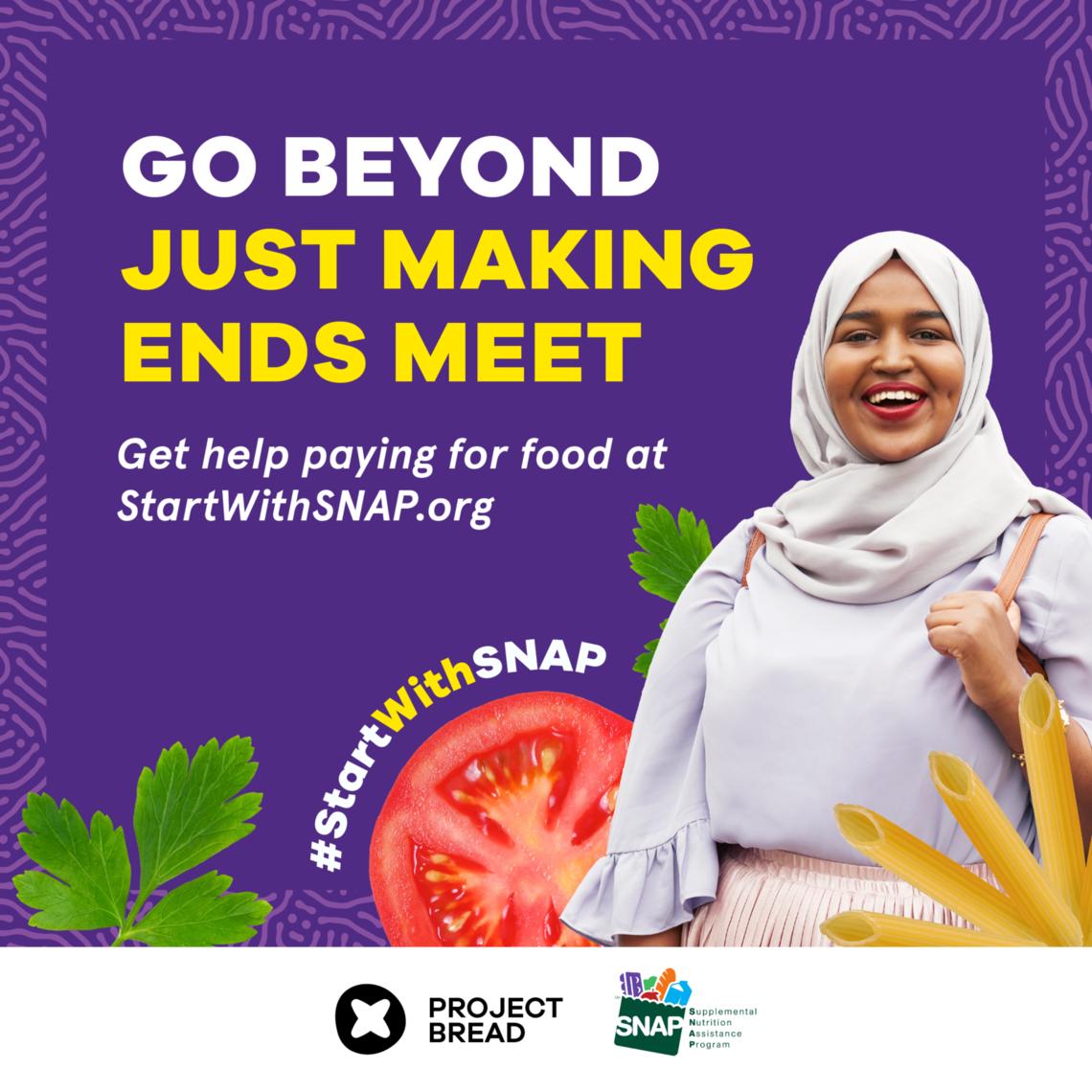 Instagram post for #StartWithSNAP